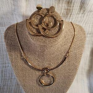🎯 2 Piece Gold Jewelry Set